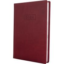 Ежедневник датированный, NEBRASKA , бордо, А5, обложка без паролона