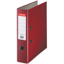 Папка-реєстратор Esselte ECO А4 75мм колір бордовий
