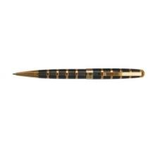 Ручка шариковая SZ.LEQI Chopin, черная с позолотой