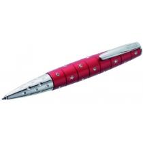 Ручка шариковая ONLINE Crystal Inspiration, красная с кристаллами Swarovski