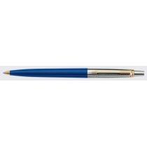 Ручка шариковая PARKER Jotter, синяя с позолотой