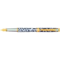 Ручка перьевая SZ.LEQI Marble, серая