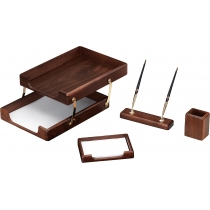Набір настільний дерев'яний з 4 предметів