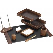 Набір настільний дерев'яний з 8 предметів