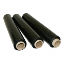 Стретч-пленка ручная, 20 мкм*500мм*250м, черная