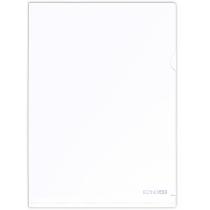 Папка-уголок A4 Economix, белая