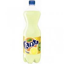 Напій сильногазований Fanta лимон 0,5 л.