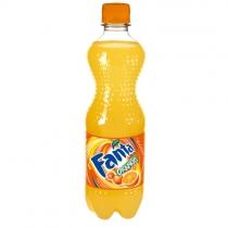 Напиток сильногазированный Fanta оранж 0,5 л.