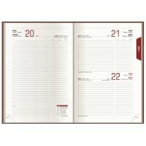 Ежедневник датированный 2019, VIVELLA , коричневый, А5