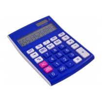 Калькулятор настольный Optima 12 разрядов, размер 146 * 105 * 26 мм, синий