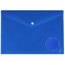 Папка-конверт А4 непрозрачная на кнопке, фактура апельсин, ассорти