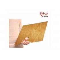 Палитра деревянная, прямоугольная, эргономичная, промасленная, 25x35см, ROSA Gallery