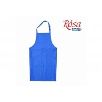 Фартук взрослый, 96 * 90см, синий, грета, ROSA Studio