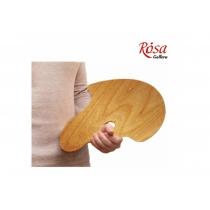 Палитра деревянная, перцевидная МОДЕРН, промасленная, 30*40см, ROSA Gallery