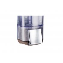 Дозатор для рідкого мила  KALLA 0,17 л Colored пластик прозорий, коричневий