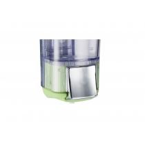 Дозатор для рідкого мила  KALLA 0,17 л Colored пластик прозорий, зелений