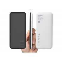 УМБ Puridea S4 6000 mAh Li-Pol Rubber Black & White