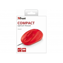 Мышь Trust Primo Optical Compact Mouse Red