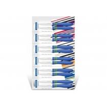 Набори ножів TRAMONTINA COR & COR X2 ножей 76 мм для овощей синій ручой