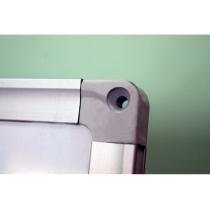 Доска магнитно-маркерная, 120х90 см, алюминиевая рамка