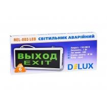 Светильник светодиодный настенный DELUX_REL-803 (1,2V600mAh) 1W_6LED (без наклейки)