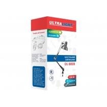 Лампа настольная Ultraligh DL800B, 100W E27, мат. никель