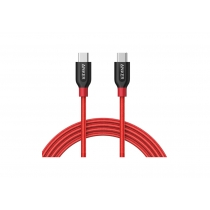 Кабель ANKER Powerline+ USB-C to USB-C 2.0 - 0.9м V3 (Red)