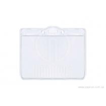 Бейдж горизонтальный, материал PVC