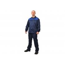Костюм рабочий«Стандарт+» куртка+брюки, р. S (44-46), рост 182-188 см, синий