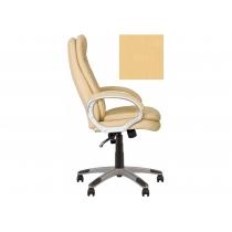 Кресло, BONN KD Anyfix PL35, Экокожа, бежевый, пласт. база, пласт. подлок. с мягким наклад.
