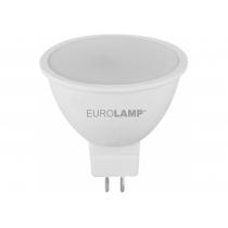 Лампа ЕКО EUROLAMP LED серія  MR16 5W GU5.3 3000K 12V (50)
