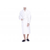 Халат махровый  XXL, плотность  (400) цвет белый, 16/1 Белый
