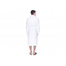 Халат махровый  L, плотность  (400) цвет белый, 16/1 Белый