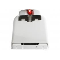 Дозатор под раствор 750 мл пластиковый белый (ручной)