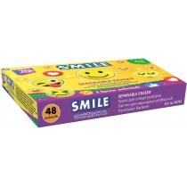 Гумка для олівця Smile розбірна, дизайни асорті
