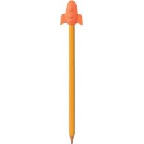 Гумка-насадка на олівець Rocket, кольори асорті