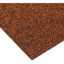 Картон з блискітками 290±10 г/м 2. Формат A4 (21х29,7см), шоколадний