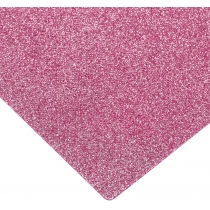 Флизелин с блестками, 20х30 см, 220±10 г/м 2, розовый