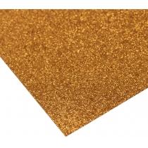 Картон з блискітками 290±10 г/м 2. Формат A4 (21х29,7см), мідний