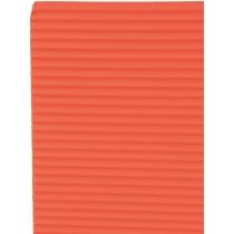 Гофрокартон неоновий 165±10 г/м 2. Формат A4 (21х29,7см), червоний