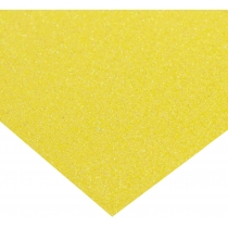 Картон з блискітками флуоресцентний 290±10 г/м 2. Формат A4 (21х29,7см), сонячний жовтий