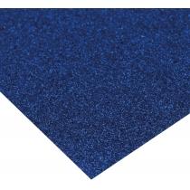Картон з блискітками 290±10 г/м 2. Формат A4 (21х29,7см), синій
