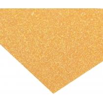 Картон з блискітками флуоресцентний 290±10 г/м 2. Формат A4 (21х29,7см), соковитий морквяний