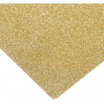 Флізелін з блискітками, 20х30 см, 220±10 г/м 2, золотистий