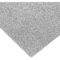 Флізелін з блискітками, 20х30 см, 220±10 г/м 2, сріблястий