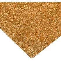 Флізелін з блискітками, 20х30 см, 220±10 г/м 2, помаранчевий