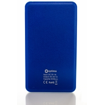 Мобильная батарея (Power Bank) Optima 4105, 4 000 mAh, 5V 1.0A, синяя