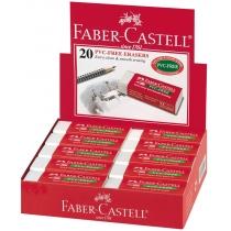 Гумка Faber-Castell вініловий білий