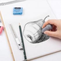 Гумка - клячка Faber -Castell TREND кольоровий
