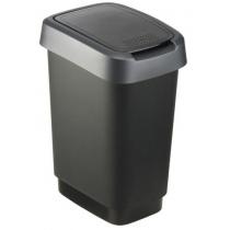 Відро для сміття свінг  TWIST асорті, 10л